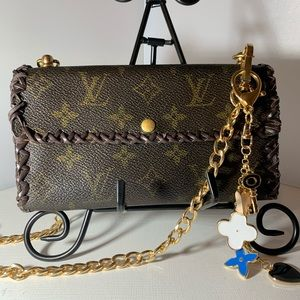 Louis Vuitton Vintage Wallet on Chain Crossbody